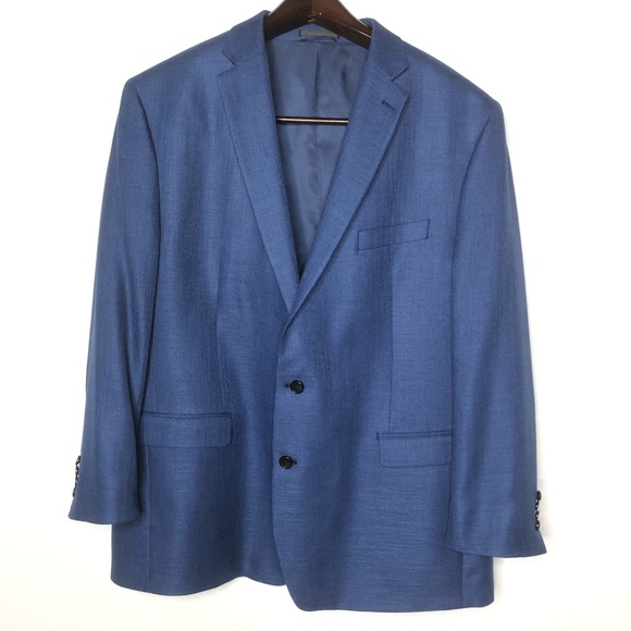 Lauren Ralph Lauren Mens Sport Coat Blue